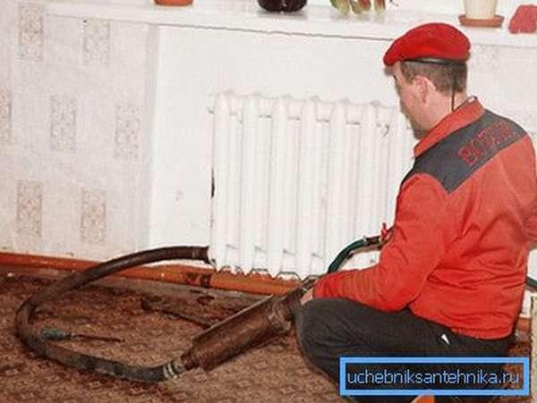 Промывка радиатора без снятия