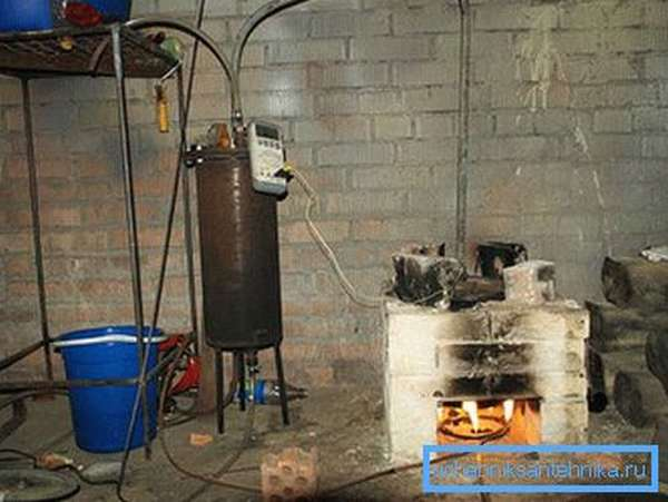 Простейшее устройство биореактора