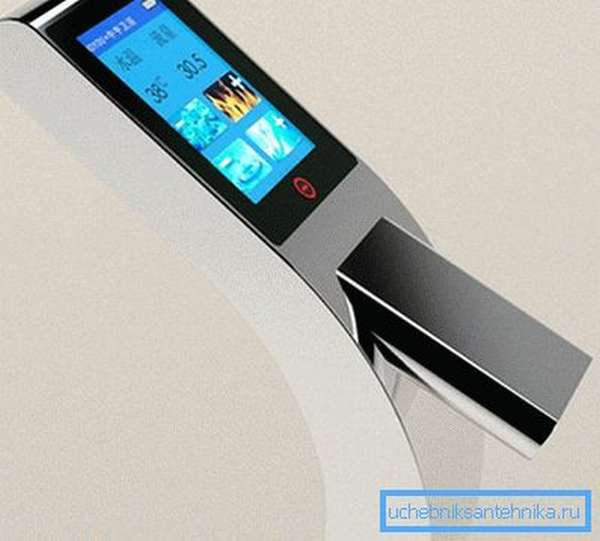 Простой и понятный интерфейс делает эксплуатацию смесителя вдвойне приятной.