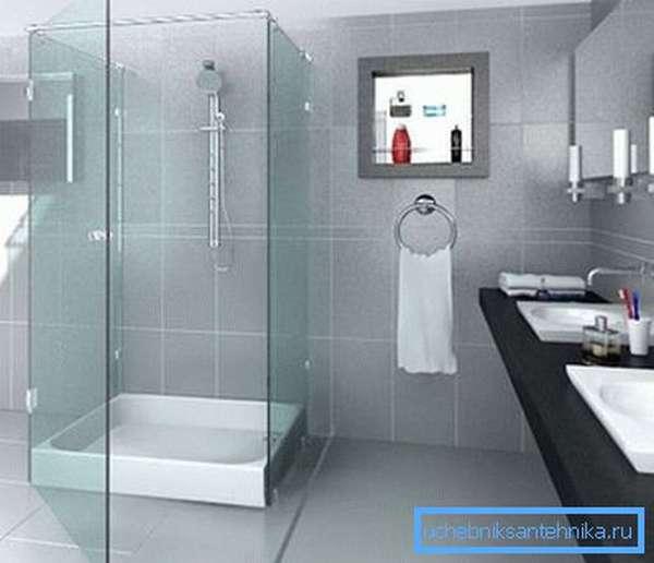 Прозрачная система не ограничивает свет в помещении