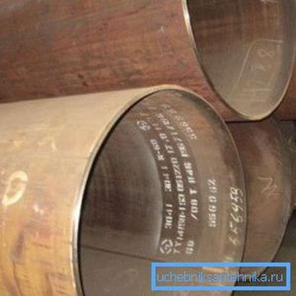 Прямошовные трубы диаметром 1420 мм