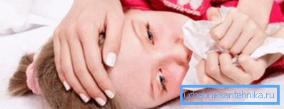 Пыль - первоочередная причина аллергии и головной боли