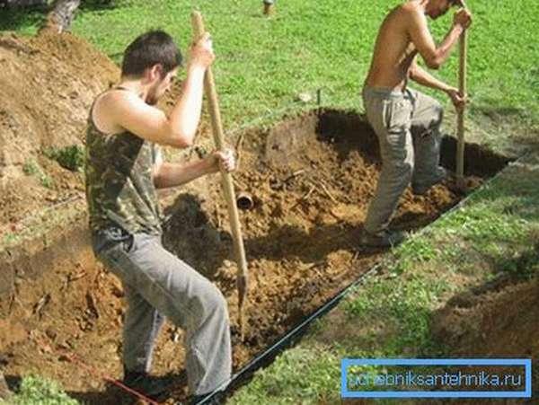 Работа для лопаты