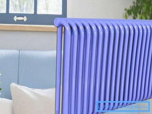 Радиатор отопления из стальных труб