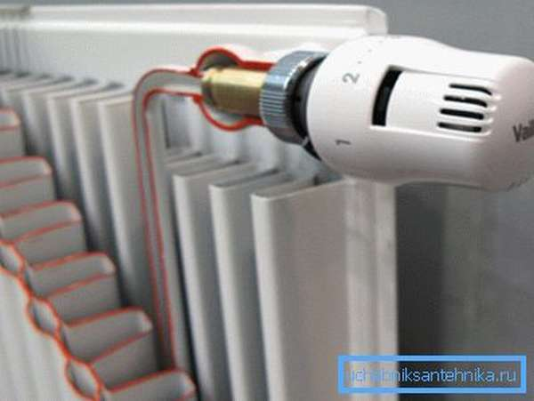 Радиаторная батарея – конечный пункт транспортировки тепла.