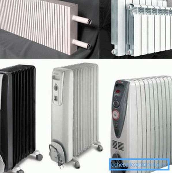Радиаторы и конвекторы отопления для различных помещений