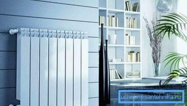 Радиаторы из биметалла современны, надежны и эстетичны.