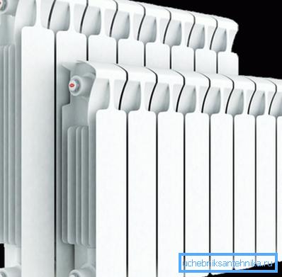Радиаторы отопления биметаллические монолит Рифар с возможностью верхнего и нижнего подключения
