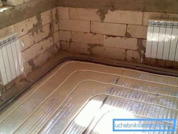 Радиаторы, совмещённые с системой «Теплый пол»