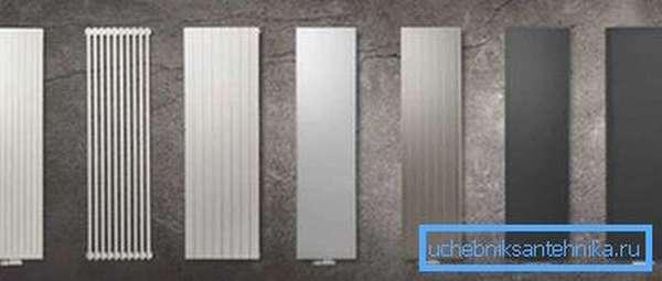 Радиаторы вертикального типа «PURMO»