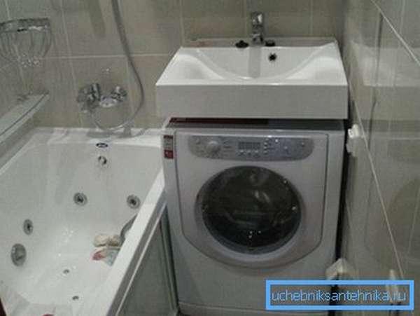 Раковина 60 на 35 над стиральной машиной