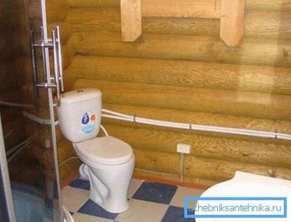 Расход воды через приборы, способные работать одновременно, суммируется.