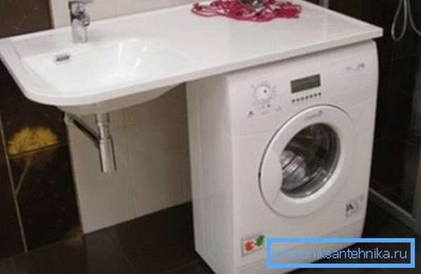 Расположение, актуальное как для ванной, так и для кухни