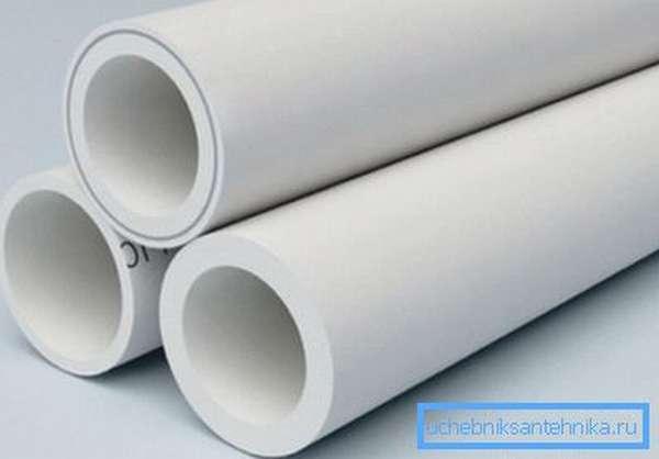 Различные варианты труб из полипропилена, подходящих для обустройства воздуховода