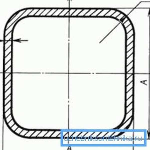 Размеры и толщина стенок трубы должны точно соответствовать ГОСТу
