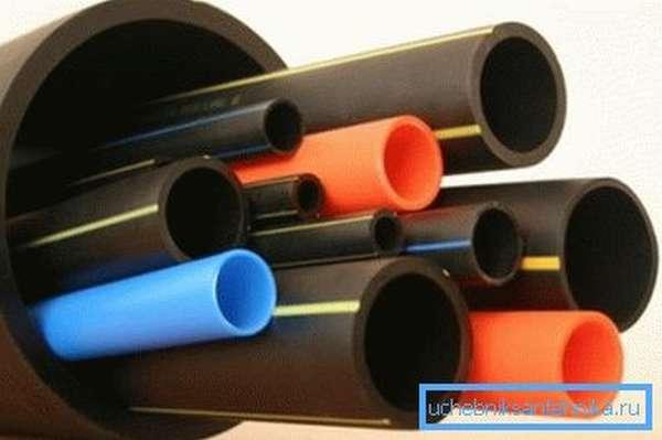 Разнообразные виды труб