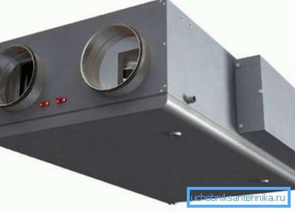 Рекуперационная вентиляционная установка