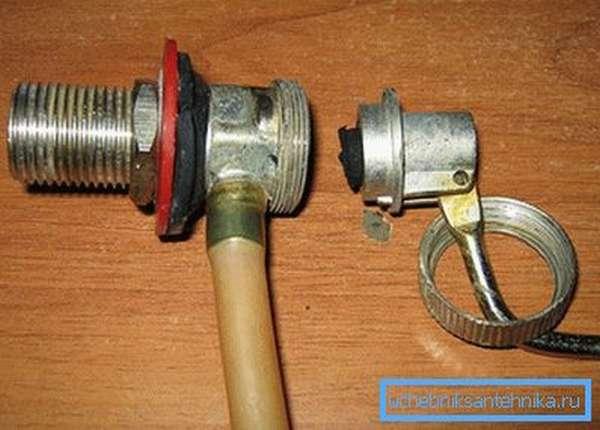 Ремонт запорного клапана