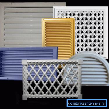 Решетки вентиляции – необходимый элемент воздухообменной сети