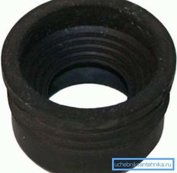 Резиновая муфта для канализационной системы