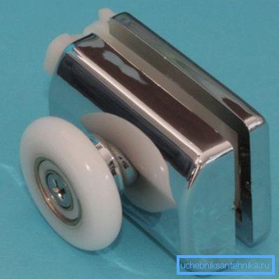 Ролик с металлическим корпусом
