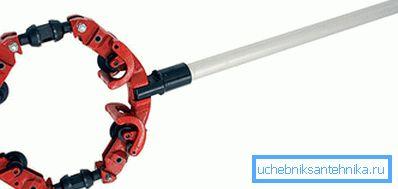 Роторный ручной труборез для металлических труб большого диаметра