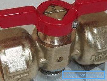Ручка позволит открыть вентиль без использования инструментов.