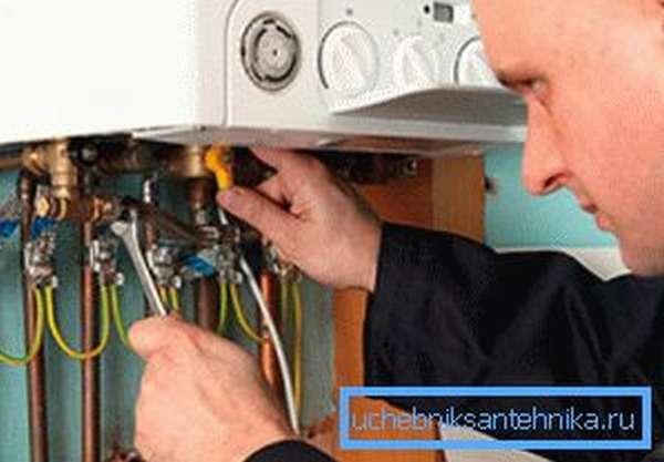 Самостоятельное обслуживание газового оборудования запрещено