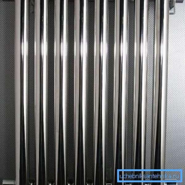 Секционный стальной радиатор проигрывает алюминиевому по теплоотдаче вдвое.
