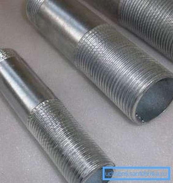 Сгоны для соединения труб с радиаторами