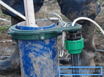 Схема устройства скважин
