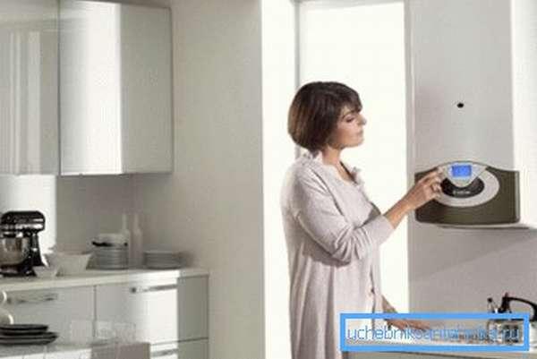 Схемы отопления квартиры будут зависеть от выбора котла.