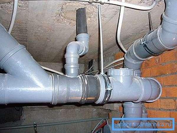 Система канализации из ПВХ