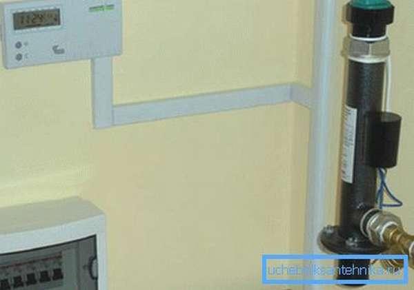 Система отопления компактна и не занимает полезную площадь