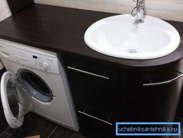 Система со встроенной стиральной машиной