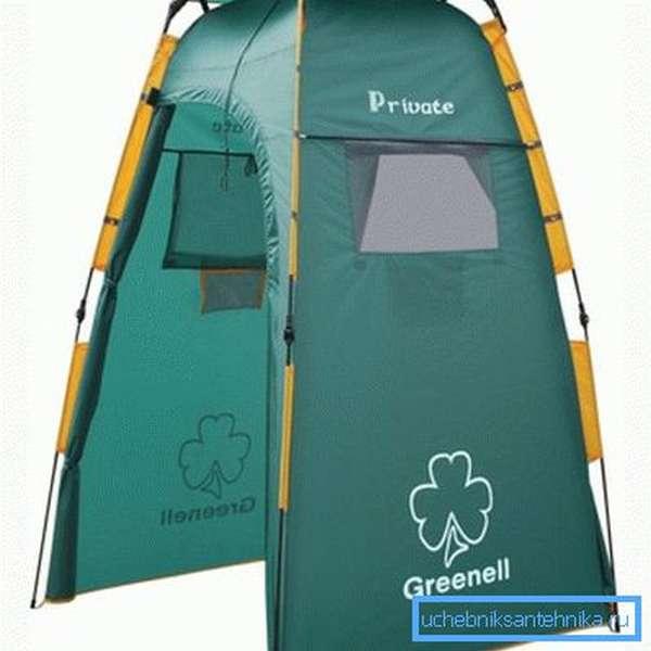 Складной летний душ-палатка