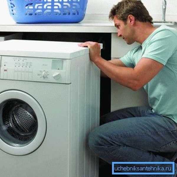 Слив со стиральной машины в канализацию возможен не в любом месте квартиры или дома.