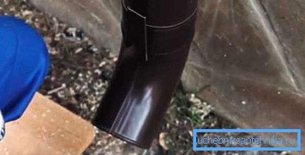 Сливное колено