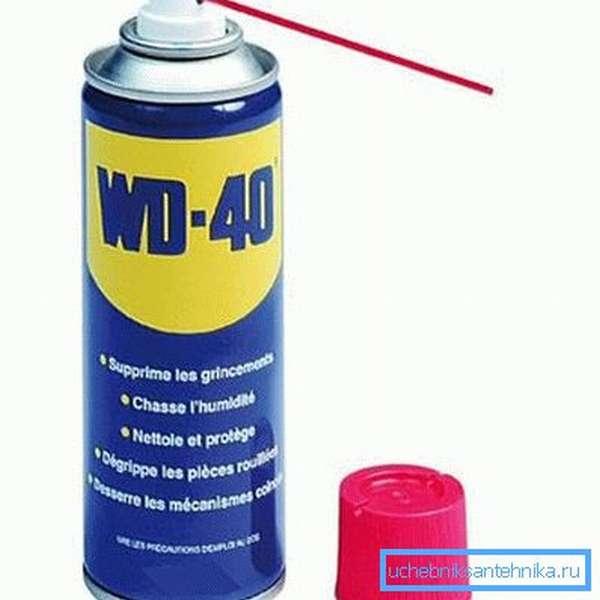 Смазка WD-40. Спрашивайте в автомагазинах.