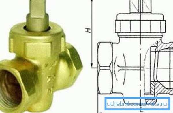 Согласно старому стандарту пробковый вентиль испытывался вдвое дольше.