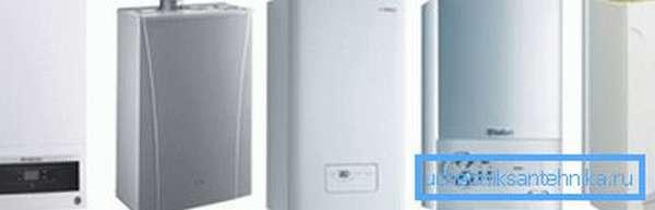 Современные газовые котлы имеют компактные размеры и привлекательный дизайн.