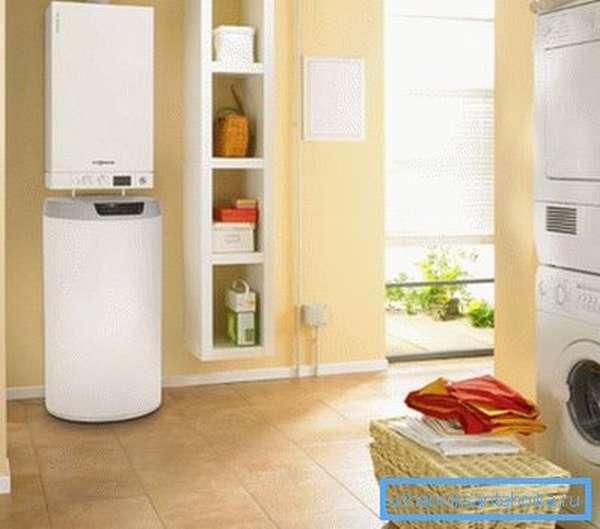 Современные отопительные установки в интерьере квартиры