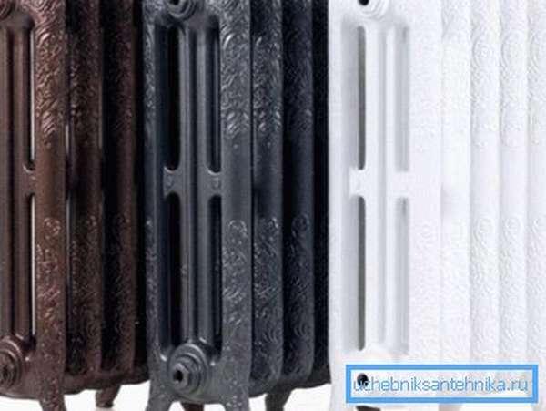 Современные радиаторы из чугуна очень красивы.