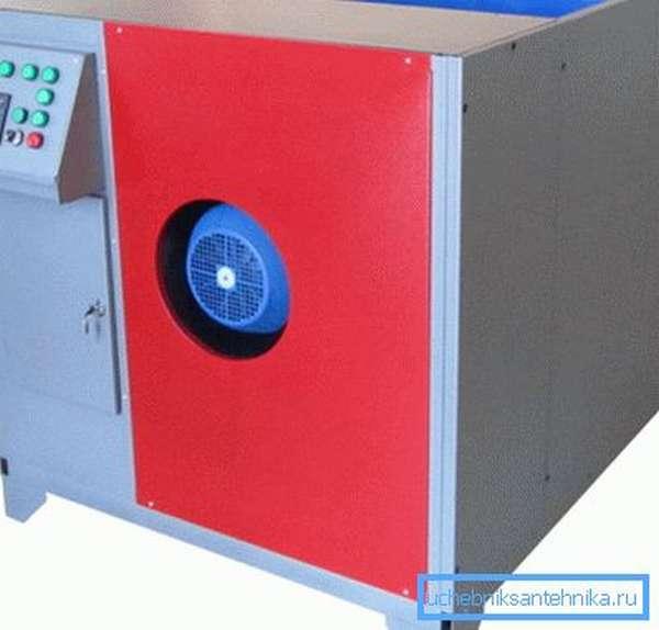 Современные вентиляционные блоки оснащаются электронной системой управления