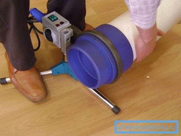 Специализированный аппарат для пайки труб большого диаметра