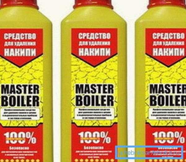 Средство для промывки бойлера Master Boiler