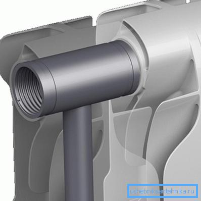 Стальная трубчатая конструкция в легкосплавном обрамлении