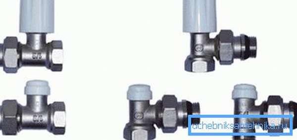 Стальные фитинги для подключения радиаторов отопления