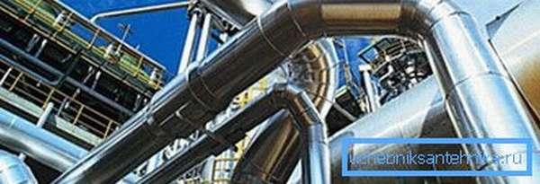 Стальные конструкции на нефтеперерабатывающем предприятии