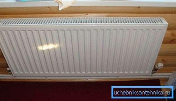 Стальные радиаторы прекрасно подходят для дачных сооружений